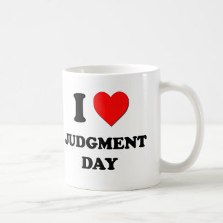 I Heart Judgment Day Mugs