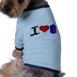 I Heart Juice Boxes Pet Clothing