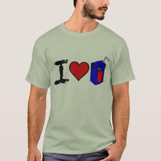 I Heart Juice Boxes T-Shirt