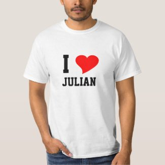 I Heart Julian T-Shirt