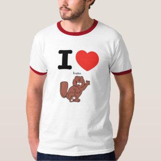 I heart Justin Beaver T-Shirt