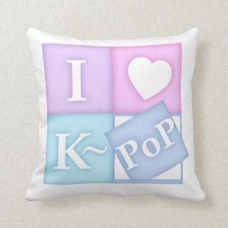 I Heart K~Pop Pillow