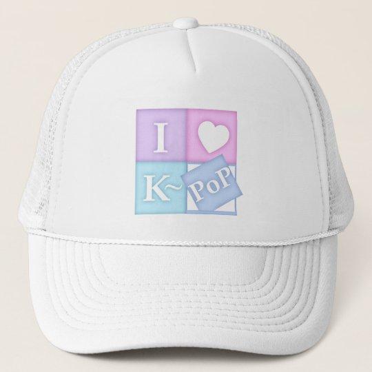I Heart K~Pop Trucker Hat