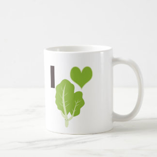 I heart Kale Coffee Mug