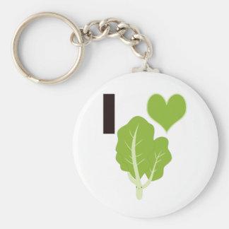 I heart Kale Keychain