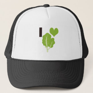 I heart Kale Trucker Hat