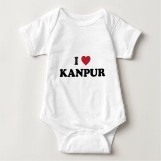 I Heart Kanpur India Baby Bodysuit