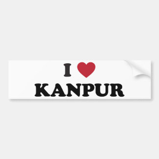I Heart Kanpur India Bumper Sticker
