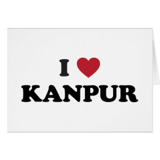 I Heart Kanpur India Card