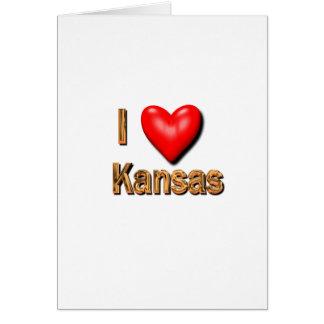 I Heart Kansas Card