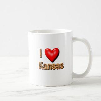 I Heart Kansas Mug