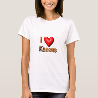 I Heart Kansas T-Shirt