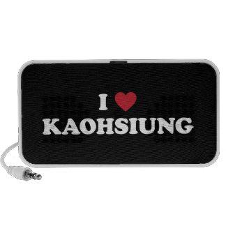 I Heart Kaohsiung Taiwan Portable Speaker