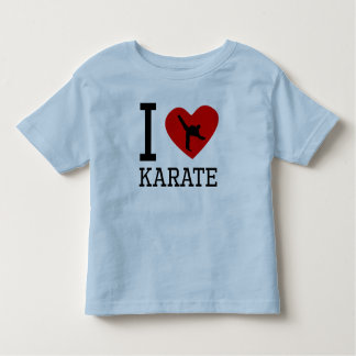 I Heart Karate Tshirts