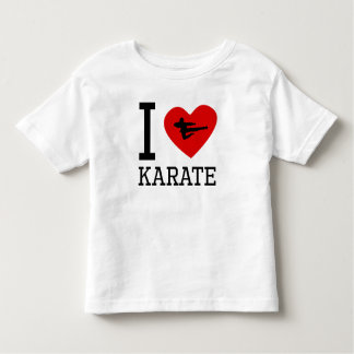 I Heart Karate Tee Shirts