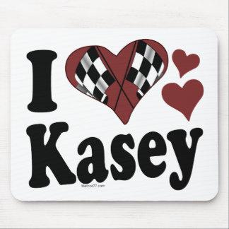 I Heart Kasey Mouse Pad