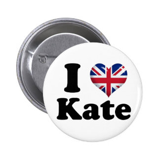 I Heart Kate Pinback Buttons