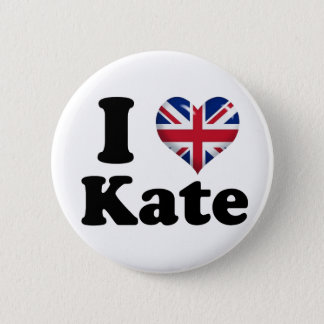 I Heart Kate Pinback Button