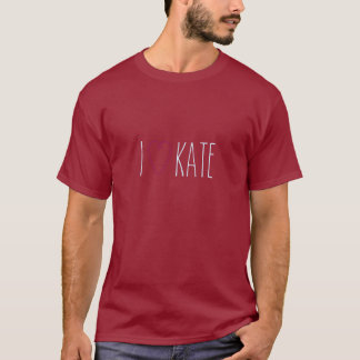 I Heart Kate Tee / Purple Flyer