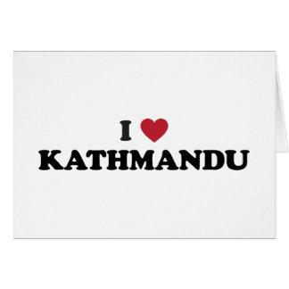 I Heart kathmandu Nepal Card