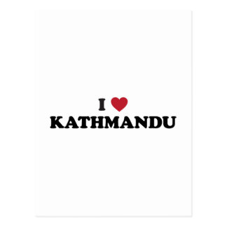 I Heart kathmandu Nepal Postcard