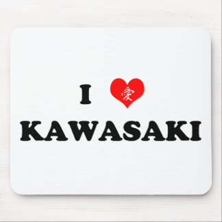 I Heart Kawasaki Mousepad
