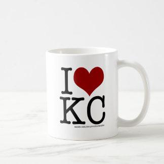 I HEART KC COFFEE MUG