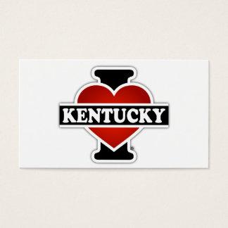 I Heart Kentucky Business Card