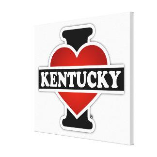 I Heart Kentucky Canvas Print