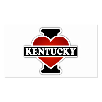 I Heart Kentucky Double-Sided Standard Business Cards (Pack Of 100)