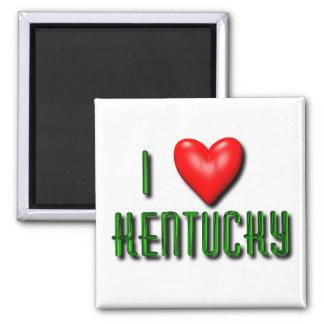 I Heart Kentucky Fridge Magnets