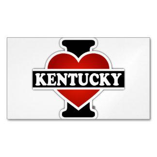I Heart Kentucky Magnetic Business Card