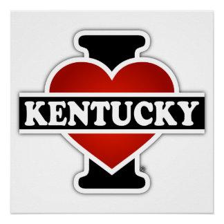 I Heart Kentucky Poster