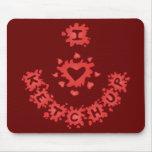 I Heart Ketchup Mousepad
