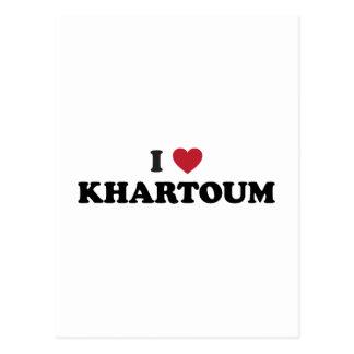 I Heart khartoum sudan Postcard