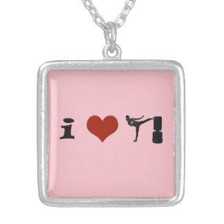 I Heart Kickboxing! Personalize it! Custom Jewelry