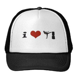 I Heart Kickboxing! Personalize it! Trucker Hat