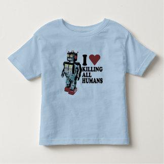 I Heart Killing All Humans Toddler T-shirt