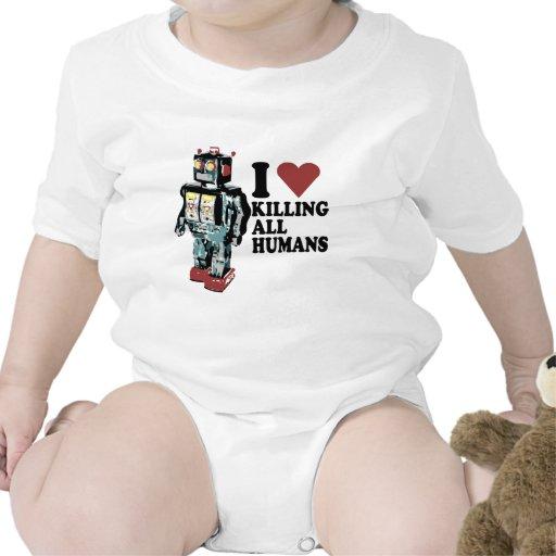 I Heart Killing All Humans Tshirts