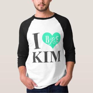 I Heart Kim Baseball T-Shirt