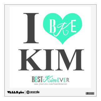 I heart Kim Wall Sticker