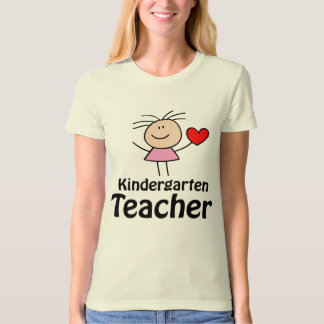 I Heart Kindergarten Teacher T-Shirt