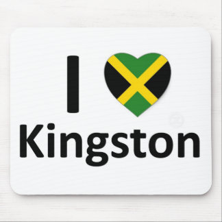 I heart Kingston (Jamaica) Mouse Pad