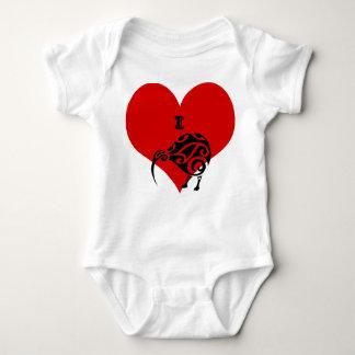 i heart kiwi baby suit clothing baby bodysuit