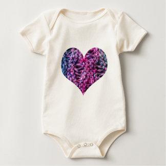 I Heart Knitting Baby Bodysuit