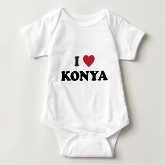 I Heart Konya Turkey Baby Bodysuit