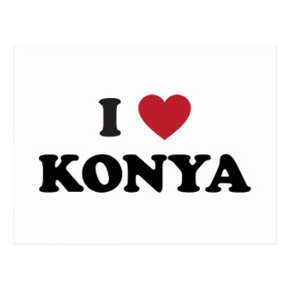 I Heart Konya Turkey Postcard