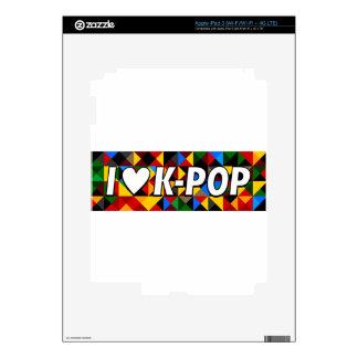 i heart korean pop iPad 3 skin