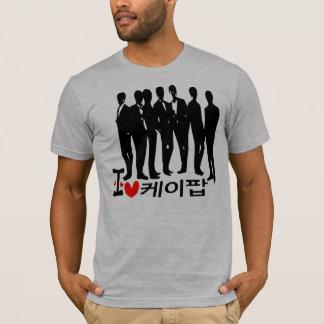 I Heart KPOP in Korean  American Apparel T-Shirt (