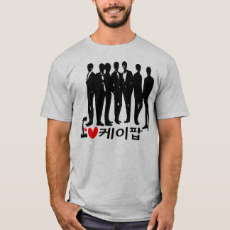 I Heart KPOP in Korean Basic T-Shirt